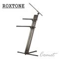 ROXTONE 雙層電子琴架 + 麥克風補助架 K1000B