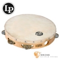 打擊樂器 ► Lp 品牌0 CP379 10吋單排鈴鼓 【CP-379/Wood Headed Tambourine with Single Row Jingles】