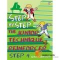 鋼琴初階N4.(Step by step) 【適合幼兒邊學習英文邊練習指法的教材】
