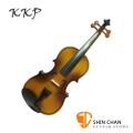 KKP 小提琴 初學入門款 共五種尺寸可選 型號:304 Violin( 附琴弓、松香、肩墊、提琴盒 )