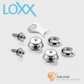 LOXX E-NICKEL 電吉他安全背帶扣 德國製