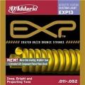 D'addario EXP13黃銅包覆民謠弦 (11-52)【DAddario/進口弦/EXP-13】