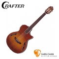 Crafter SAC-TMVS 可插電古典吉他 韓國廠 附原廠厚琴袋、Pick×2、背帶、導線