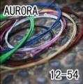 AURORA 美國進口黑色民謠弦(12-54)【進口弦專賣店/木吉他弦】