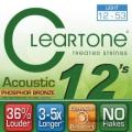 CLeaRTone(0.12-0.53)頂級民謠弦(磷青銅)【CLeaRTone進口弦專賣店/木吉他弦/7412】