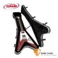 電吉他case ► SKB SKB-58 V型電吉他專用硬盒 可鎖【SKB58/Flying V® Hardshell Guitar Case】