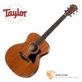 taylor吉他 ► Taylor 324 全單板 全桃花心木 民謠吉他 美廠 附原廠硬盒【GA桶身/木吉他】