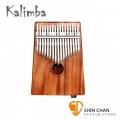 Kalimba Kc-17E 相思木 可插電卡林巴琴/拇指琴/手指鋼琴/手指琴 17音 附收納束口袋、調音鎚、音階表【KC17E】