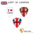 Comet 英國倫敦Lost in London 獨家限量設計Pick 單片