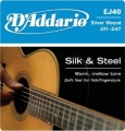 D'Addario EJ40絲弦民謠吉他弦(11-47)【DAddario/木吉他弦/EJ-40】