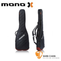 mono bass琴袋►美國MONO M80系列 Vertigo 黑色紅底-電貝斯袋-軍事化防震防潑水等級(M80-VEB-GRY)
