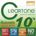 CLeaRTone(0.10-0.47)頂級民謠弦(磷青銅)【吉他弦專賣店/進口弦/7410】