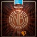 D'Addario NB1253 鎳銅民謠吉他弦 (12-53)【吉他弦專賣店/進口弦/NB-1253/DAddario】