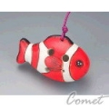 四孔陶笛 小丑魚 (ZK1-5) 內附簡易指法表 【4孔陶笛】