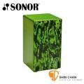 木箱鼓 ► Sonor 頂級德國製 CAJ BA 綠色木箱鼓【加贈市價1200元木箱鼓袋-可雙肩背厚袋/CAJBAGREEN】