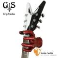 美國製造 Grip Studios 怪獸 Monster 造型吉他架(紅色/Red Rum)壁掛