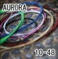 AURORA 美國進口黑色民謠弦(10-48)【吉他弦專賣店/進口弦】