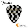 Fender 351 CHECKER 彈片 PICK【一組12片/ 尺寸:Heavy (厚度: 1.2mm) / 美製】