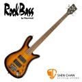 Rockbass Streamer Warwick 副廠 四弦電貝斯 夕陽色【Warwick電貝斯專賣店/貝斯品牌】