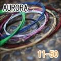 AURORA 美國進口橘色民謠弦(11-50)【AURORA進口弦專賣店/木吉他弦】