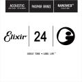Elixir 木吉他弦 14124 第3弦 Phosphor Bronze 磷青銅 紅銅 Nanoweb /單弦 .24 elixir零弦 台灣公司貨