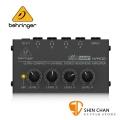 【預購】Behringer 耳朵牌 迷你 耳機分配器/擴大器 MICROAMP HA400【立體聲/四輸出/耳擴】