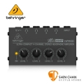 Behringer 耳朵牌 迷你 耳機分配器/擴大器 MICROAMP HA400【立體聲/四輸出/耳擴】