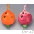 四孔陶笛 蘿蔔造型 兩色 (ZK0-1) 內附簡易指法表 【4孔陶笛】
