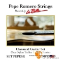 Pepe Romero Strings 專業級 高張力 古典吉他弦 型號: SET PEPESR 美製/古典弦【La Bella】