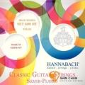古典弦 ▻ HANNABACH 600HT 高張力鍍銀古典吉他弦【古典弦專賣店/尼龍弦/600-HT】