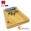 West 威斯特 KA9-NT 卡林巴 台灣製造姆指鋼琴/手指鋼琴9音/Kalimba 原木色 W-KA9-NT