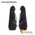GruvGear SV-EB-BLK Sliver系列 電貝斯琴袋【配色:內橘外黑】厚琴袋/琴袋/電貝斯袋