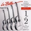 La Bella FG112 纏弦增強34吋古典吉他專用弦【古典弦專賣店/尼龍弦/FG-112】