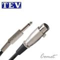 TEV 04M-6.3 麥克風線(3公尺/XLR to TS 6.3)