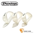 Dunlop 9003R 美國製造-白色拇指套 White Plastic(一組三個)