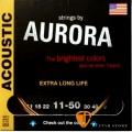 AURORA A11-50 磷青銅民謠吉他弦 60年工藝 美國製 (11-50)【木吉他弦】