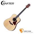 Crafter D6/N 單板民謠吉他 韓國廠 附原廠厚琴袋、Pick×2、移調夾、背帶