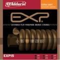 D'addario EXP15頂級磷青銅包覆民謠弦(10-47)【DAddario/進口弦/EXP-15】