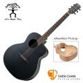 aNueNue LL16 E 黑鳥 /41吋 黑色吉他 可插電 雲杉面板/桃花心木側背板(面單板)附贈anuenue原廠吉他袋【鳥吉他 LL16E /吉他】