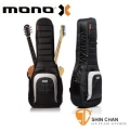 mono 琴袋 | 美國MONO M80 Dual 2A 新款/雙支吉他袋(一電/一木)吉他袋-軍事化防震防潑水 M80 2A-BLK