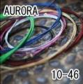 AURORA 美國進口黑色電吉他弦(10-46)【AURORA進口弦專賣店/電吉他弦】
