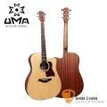 UMA D-12CNS民謠木吉他(D型琴身)41吋 附UMA原廠吉他袋