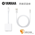 Yamaha AG03/AG06 專用原廠認證連接線組【iPhone/iPad 直播】