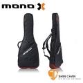 mono吉他袋►美國MONO M80系列 Vertigo 黑色紅底-電吉他袋-軍事化防震防潑水等級(M80-VEG-GRY)