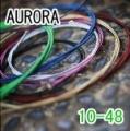 AURORA 美國進口綠色民謠弦(10-48)【AURORA進口弦專賣店/木吉他弦】