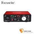 Focusrite Scarlett Solo 2nd 二代錄音介面 / 錄音卡 USB 2.0(總代理/公司貨)保固二年