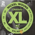 D'addario EXL165TP 一組2套 頂級電貝斯弦 (45-105) 【Daddario/進口貝斯弦/美國製】