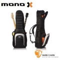 mono 琴袋》美國MONO M80系列 Dual 2G雙支電吉他袋-軍事化防震防潑水等級(一次放二支電吉他)M80 2G-BLK