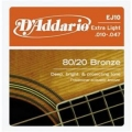D'Addario EJ10青銅民謠弦(10-47)【DAddario/木吉他弦/EJ-10】