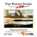 Pepe Romero Strings 高張力 古典吉他弦 型號: SET GRN 美製/古典弦【La Bella】